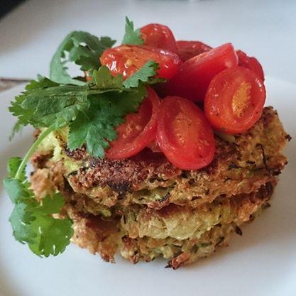 Quinoa Zucchini Fritters (GF)
