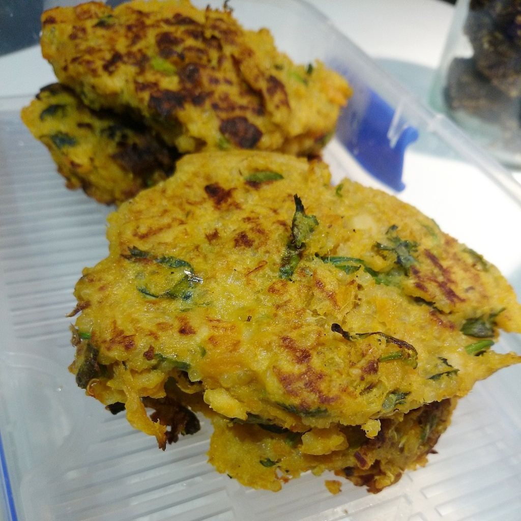 Sweet Potato Salmon Patties1